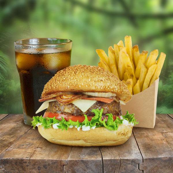 Menu hamburguesa clasica Khambú
